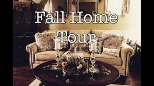 watch fall decor home tour fall traditional u0026 gree