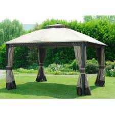 Sunjoy Tiki Gazebo by Sunjoy Gazebo Netting Sunjoy Has Been A Trusted Of Outdoor Patio