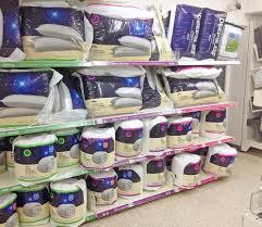 Duvets Pillows Bedding Duvets And Pillows In A Store Editorial Photo Image