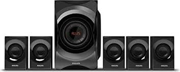 Buy Philips Hts5520 94 5 1 Dvd Home Theatre System Online At Best - philips htd2520 94 5 1 ch dvd home theatre system black price in