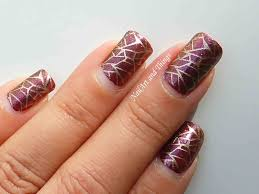nail design brown gold brown nail designs to try this fall