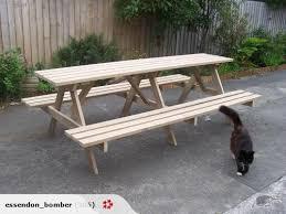 2 5mt long picnic bbq table trade me