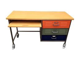 Pottery Barn Desks Pottery Barn Locker Desk Chairish