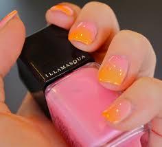 samantha u0027s midweek nail inspiration summer ombreillamasqua blog