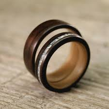 wooden wedding bands wooden wedding rings an eco friendly wedding ring choice