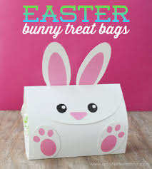 easter bags free printable easter bunny treat bags artsy fartsy
