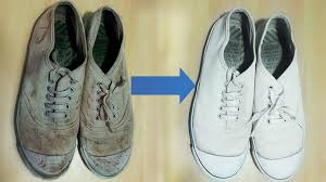 Hints On How To Clean How To Clean Shoes Canvas Vans And Converse Youtube
