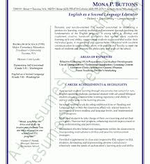 Esl Teacher Resume Examples by Teacher Sample Resume Resume Example