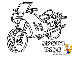 motorcycle coloring pages racing motorcycle free coloring