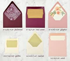 how to diy envelope liners for your wedding invitations cards