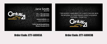 Century 21 Business Cards Century 21 Full Color Business Card Printing