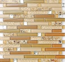 Gold Items Crystal Glass Mosaic Tile Wall Backsplashes by Diamond Glass Tile Backsplash Interlocking Glass Mosaic Tiles Spbc781