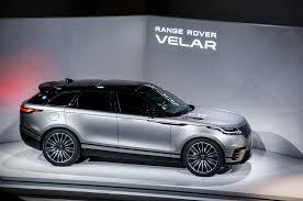 lexus suv vs range rover first look 2018 range rover velar automobile magazine