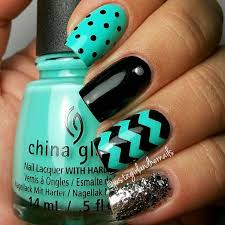 best 10 chevron nails ideas on pinterest mint chevron nails