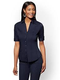 navy blouse blouses for s shirts york company