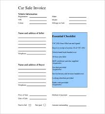 Sales Invoice Template Excel Free Car Sales Invoice Template Excel Invoice Factoring Reviews