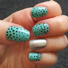40 inspiring polka dot nail art designs nail design ideaz