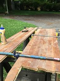 How To Build A Farmhouse Table How To Make A Folding Farmhouse Table From Reclaimed Wood Man