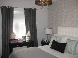 Gray Wallpaper Bedroom - wallpaper accent wall design ideas