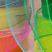deco mesh ribbon deco mesh ribbon 2 1 2 w emerald the lucky clover trading co