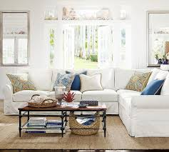 Pearce Sofa Pottery Barn by Interior Pearce Sectional With Pottery Barn Living Room