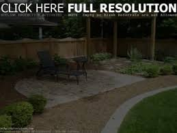 simple backyard landscape design landscaping ideas pictures with