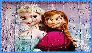 frozen puzzle games disney jigsaw puzzles elsa princess anna toys