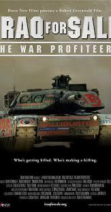 iraq for sale the war profiteers 2006 imdb