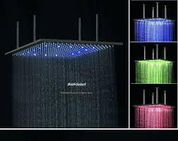 Shower Head In Ceiling by Multi Spray Shower Head Bathroom Elegant Flush Ceiling Mounted