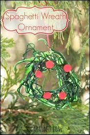 spaghetti wreath ornament for to make the ot toolbox