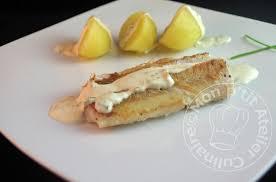 comment cuisiner le colin colin d alaska crème citronnée ciboulette