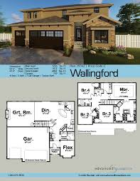 2 story mediterranean house plan wallingford