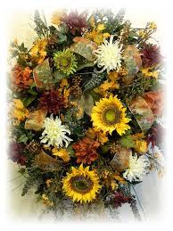 decorating burlap fall wreath autumn wreaths simple fall