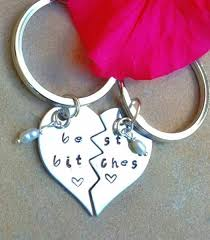 personalized keychain gifts bridesmaid gifts best friend gift best by natashaaloha on zibbet