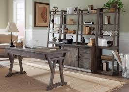 Home Office Furniture Suites Liberty Furniture Brook 2 Home Office Suites In Rustic