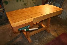 traditional work bench by henryh lumberjocks com woodworking