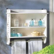 Bathroom Wall Cabinet With Towel Bar by Wall Shelves Ebay