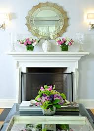 Fireplace Mantel Decoration by Decorating Fireplace Mantel With A Mirror Decorating Fireplace