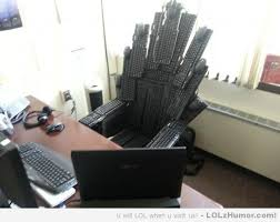 Office Work Memes - i work in it and this is my new office chair lolz humor