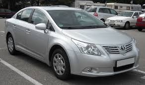 toyota avensis history of model photo gallery and list of