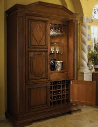 Wood Bar Cabinet Tall Bar Cabinet Wood Mode Fine Custom Cabinetry