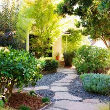 Front Yard Landscaping Without Grass - a gorgeous california no lawn garden love that curvy border of