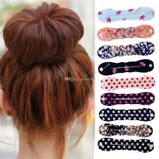 donut bun hair fashion donut bun maker former dish hair tools hair