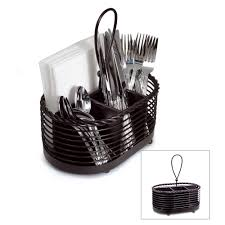 buy gourmet basics napkin and flatware caddy online at mikasa com