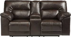 ashley furniture barrettsville durablend reclining sectional in