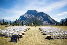 mountain wedding weddings banff canadian rocky mountain resorts