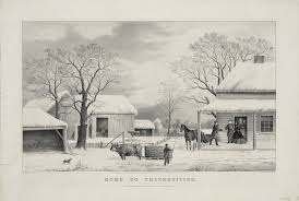 description of thanksgiving file home to thanksgiving currier and ives jpg wikimedia commons