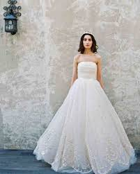 wedding dress trend 2017 9 best wedding dress trends from bridal fashion week