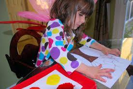 fall crafts for kids fingerprint trees mess for less