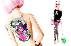 barbie with an edge tattoo com